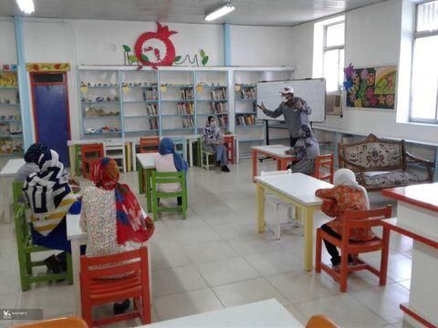 آغاز کارگاههای حضوری مراکز فرهنگی هنری کانون مازندران با رعایت پروتکلهای بهداشتی