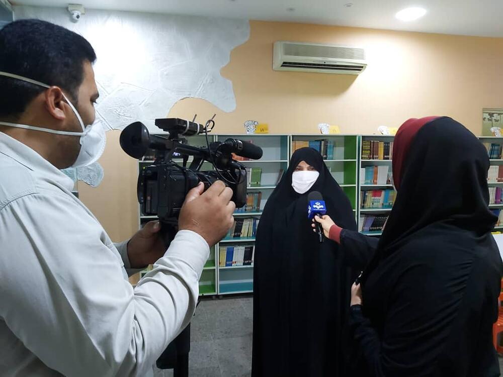 گزارش خبری صدای و سیمای مرکز خلیج فارس  شروع دوره های برخط کانون استان هرمزگان