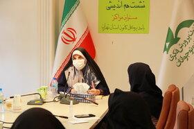 نشست صمیمانه مدیر کل و مسئولین مراکز کانون استان تهران  با رعایت پروتکل های بهداشتی به تفکیک، در پنج روز مجزای کاری انجام شد. (بیست و چهارم تیر ماه)