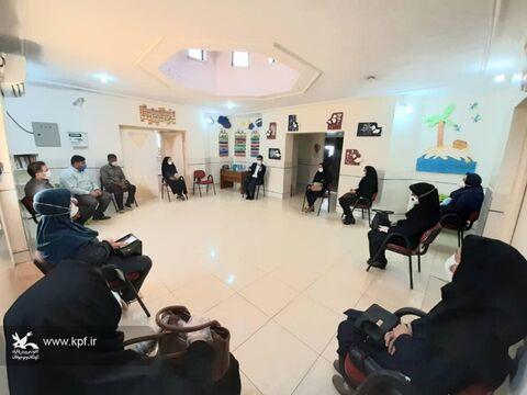 آیین تودیع و معارفه مسئول مجتمع فرهنگی هنری کانون پرورش فکری شهرستان اهواز