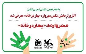 پنج عضو کانون کرمان در مهرواره عکس «بهار در خانه» برگزیده شدند