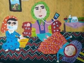درخشش اعضای کانون آذربایجانغربی در بخش نقاشی مهرواره «بهار در خانه»