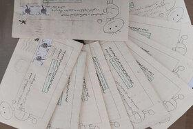 نامهی کودکانِ روستایی در دل کویر به آفرینشهای ادبی کانون سمنان