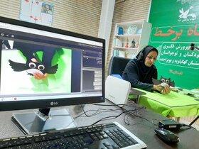 کارگاههای فرهنگی هنری برخط کانون پرورش فکری کهگیلویه و بویراحمد / گزارش تصویری