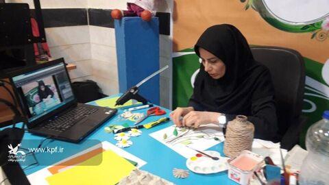 برگزاری کارگاه های آموزشی حضوری و غیر حضوری در استان