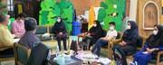 نشست حافظخوانی در کانون استان قزوین