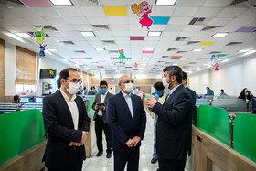 افتتاح دو استودیو  «هنر پویا» و «گنبد کبود» کانون با حضور وزیر آموزش و پرورش