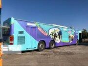 اتوبوسهای نشاط با هدف شادی کودکان، در خیابانهای شیراز  بهحرکت درآمد