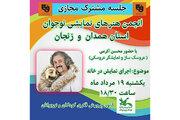 پنجمین جلسه مشترک انجمن نمایش نوجوان صورتک استانهای همدان و زنجان برگزار شد
