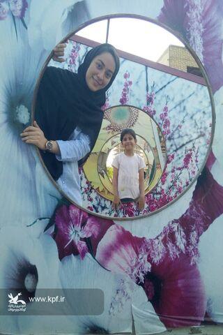 سیده سارا موسوی عضو نوجوان مرکز فرهنگی هنری شماره دو کانون سمنان