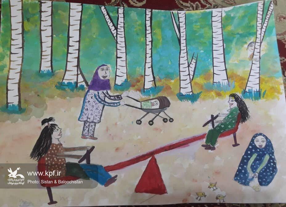 درخشش اعضای کانون سیستان و بلوچستان در مسابقهی «حقوق کودک از نگاه کودک»