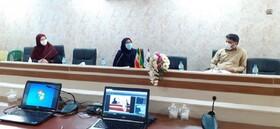 وبینار نیروهای خدماتی ستادی و مراکز فرهنگی هنری