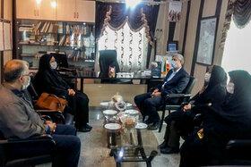 مدیرکل کانون استان همدان با فرماندار شهرستان فامنین دیدار کرد