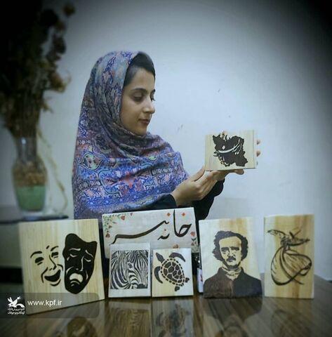 آثار اعضای کارگاه مجازی سوخت نگاری کانون استان بوشهر