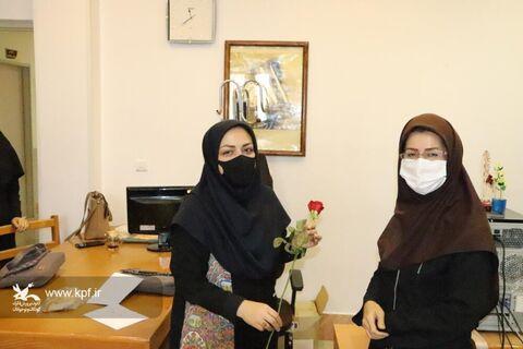 تقدیر از کارکنان اداره کل کانون پرورش فکری کودکان و نوجوانان گلستان بهمناسبت روز کارمند