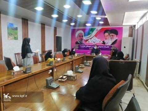 هفته دولت در مراکز کانون پرورش فکری کودکان و نوجوانان آذربایجان شرقی