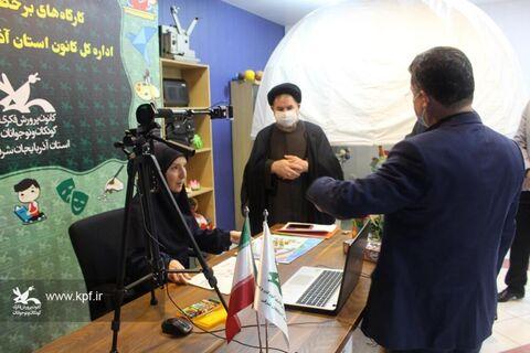 بازدید حجت السلام و المسلمین میرتاجالدینی از مجتمع کانون تبریز