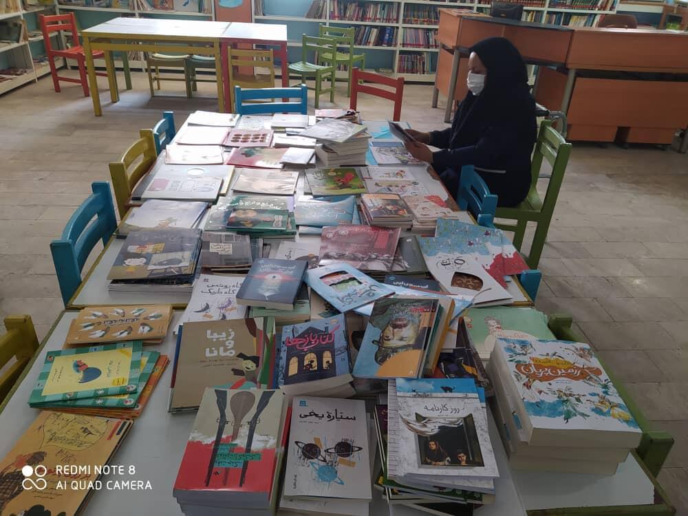 تجهیز کتابخانه های کانون پرورش فکری استان هرمزگان به ۶۰ عنوان کتاب جدید