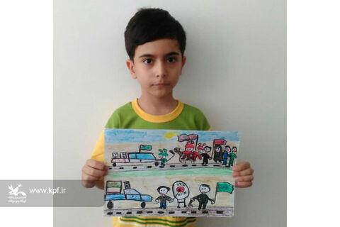 آثار ارسالی اعضاء و مربیان کانون استان همدان به مناسبت ماه محرم