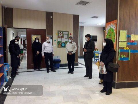بازدید بیاتی معاون سازمان برنامه و بودجه از مرکز فرهنگی هنری شماره یک اراک