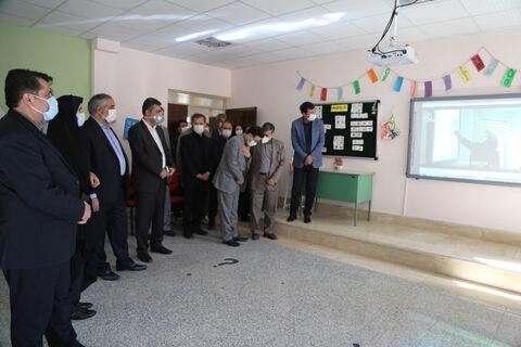 افتتاح پروژه مرکز شماره 4 و شماره 5 کانون سنندج و کانون زبان ایران شعبه سنندج
