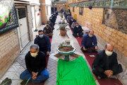 برگزاری مراسم عزاداری کارکنان کانون در سومین روز شهادت شهیدان دشت کربلا