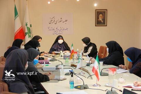 جلسه هم اندیشی مدیرکل و کارشناسان کانون استان تهران