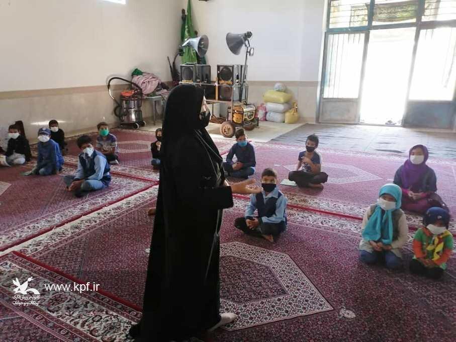 ایستگاه فرهنگی کودک، مهر، محرم در روستای «نیگ» برگزار شد