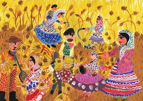 دختر ارومیهای عضو کانون، برگزیده مسابقه نقاشی بلغارستان شد