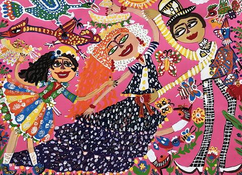«مرسانا بیگزاده» ۸ ساله از مرکز فرهنگیهنری شماره 3 کانون کرمانشاه،