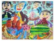 موفقیت کودکان خوزستانی در مسابقه نقاشی نوازاگورا بلغارستان