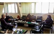 بهناز ضرابیزاده با حضور در دفتر مدیرکل نوسازی، تجهیز و توسعه مدارس استان همدان، با وی دیدار و گفتگو کرد