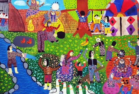 برگزیدگان ششمین نمایشگاه بینالمللی نقاشی کودکان آسیایی سال ۲۰۲۰