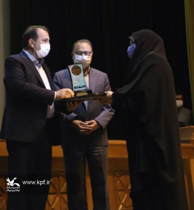کانون پرورش فکری کودکان و نوجوانان فارس در جشنواره شهید رجایی برتر شد