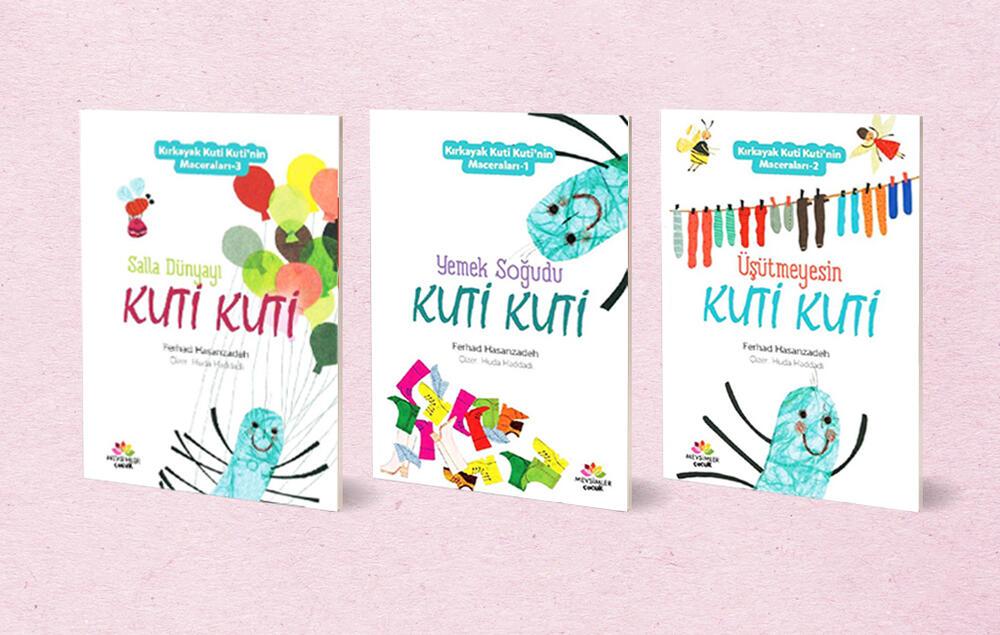 مجموعه کتاب «قصههای کوتیکوتی» به ترکی استانبولی منتشر شد