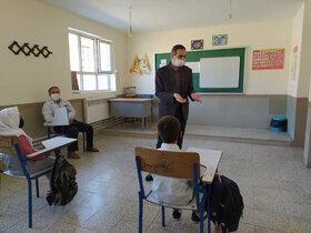 همراه با کاروان پیک امید کانون استان اردبیل در روستای قوزلو کوثر