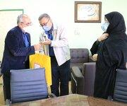 از معاون فرهنگی کانون فارس تجلیل شد