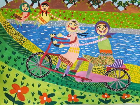 """Mahya Vojdani"", 11, Kanoon Khoy in West  Azerbaijan Province"
