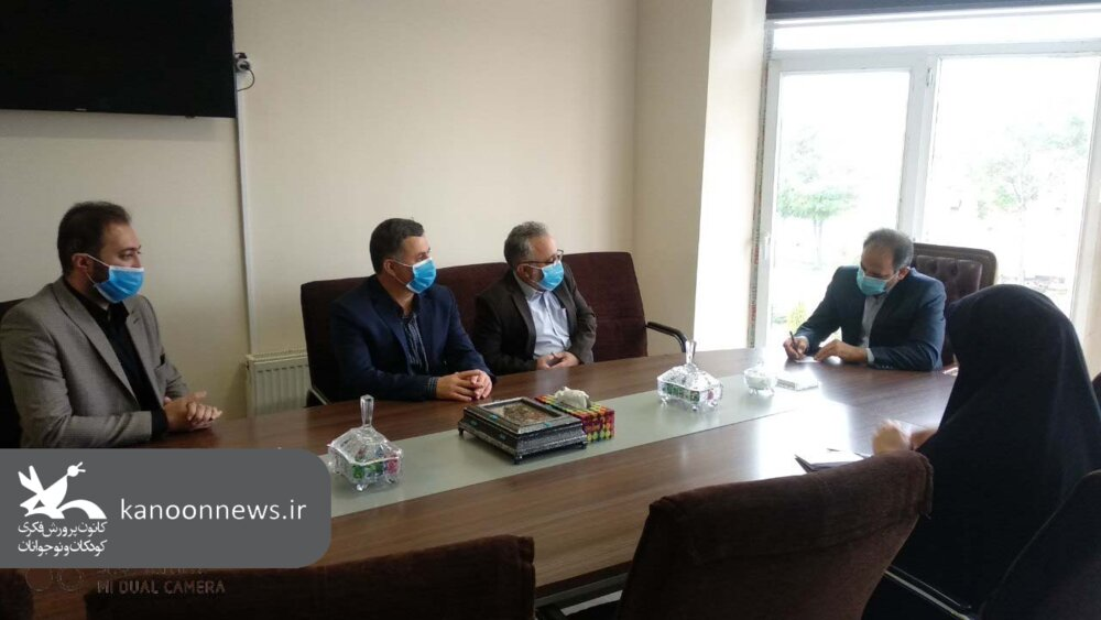 توسعه فعالیتهای کانون پرورش فکری کودکان و نوجوانان در شهرستان ورزقان