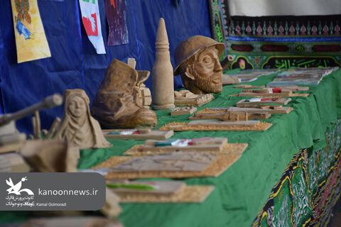 نمایشگاه بزرگ دفاع مقدس خرم آباد