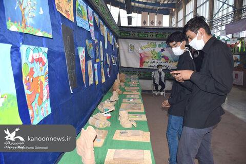 غرفه کانون لرستان درنمایشگاه دفاع مقدس خرم آباد به روایت تصویر