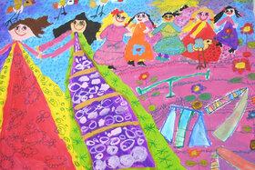 دیپلم افتخار ششمین نمایشگاه بینالمللی نقاشی کودکان آسیایی نصیب کودک همدانی شد