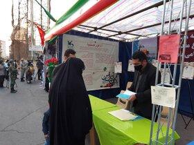 افتتاح غرفه کانون در نمایشگاه استانی هفته دفاع مقدس در تبریز