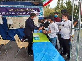 غرفه کانون در نمایشگاه استانی هفته دفاع مقدس در تبریز