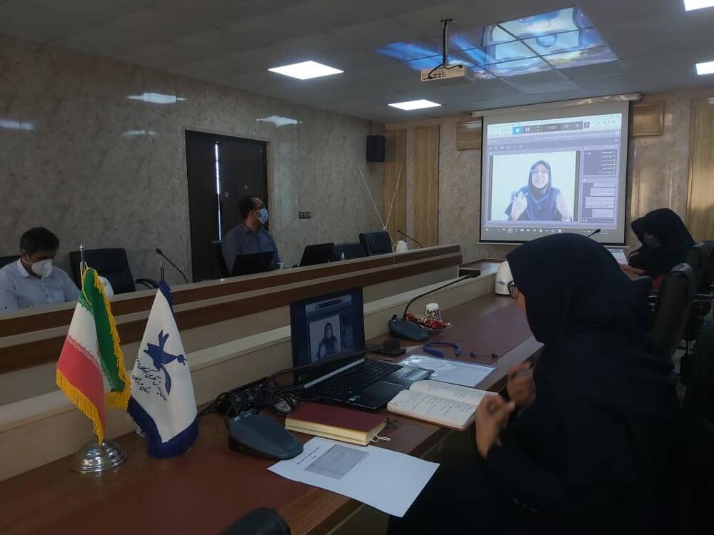 بررسی کارگاه های پاییز کانون در وبینار سراسری مربیان استان هرمزگان