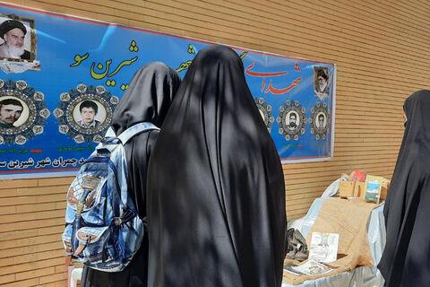 اعضا و مربیان کانون پرورش فکری استان همدان در مسابقه عکس سلفی «من و شهید» شرکت کردند