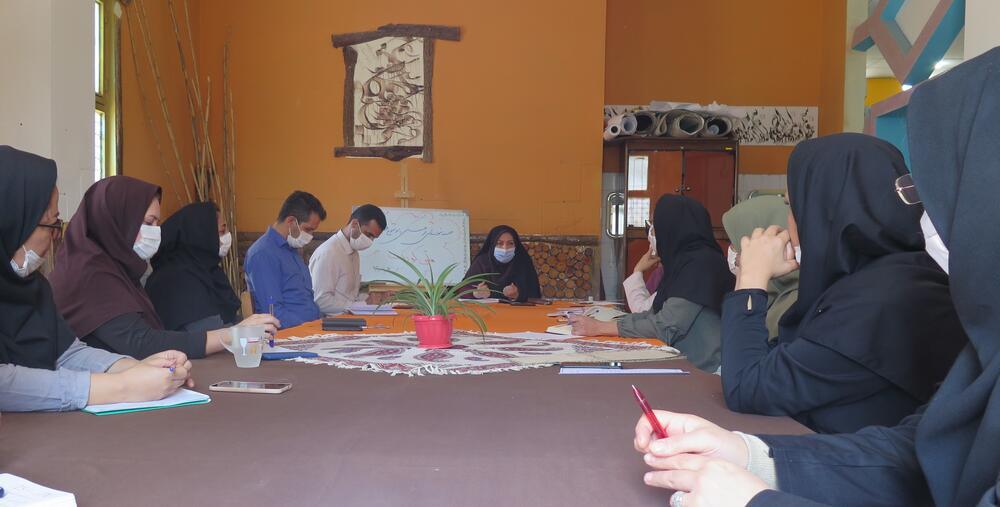 برگزاری نشست هماندیشی کارکنان کانون استان قزوین