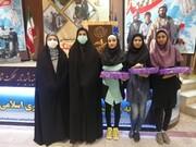 در همایش زنان پیشکسوت دفاع مقدس از اعضا نوجوان دخنر مراکز سنندج تقدیر شد