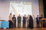 کانون پرورش فکری کودکان و نوجوانان استان همدان، در اختتامیه نمایشگاه دفاع مقدس مورد تقدیر قرار گرفت