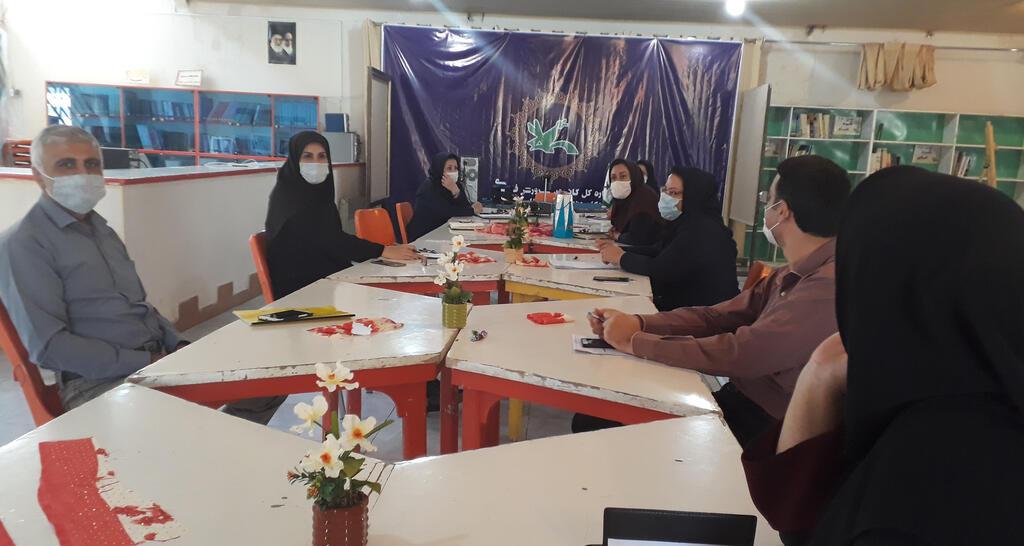 جلسه شورای فرهنگی با موضوع هفته ملی کودک برگزار شد